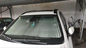 Pare Soleil Pare Brise de Voiture Retractable- Protection Anti UV photo review