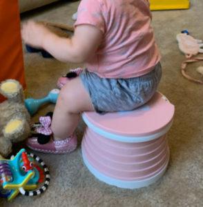 Pot Bébé Enfant Portable & Pliable - Toilette d'urgence photo review